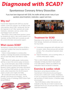 Diagnosed with SCAD downloadable leaflet