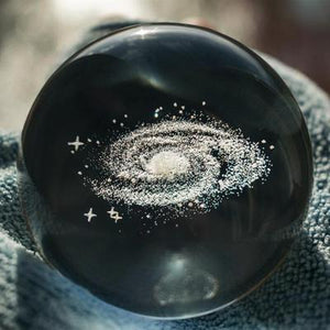 Crystal Milky Way Ball - SpaceTrips
