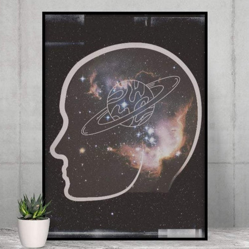 Astronaut Lover Poster