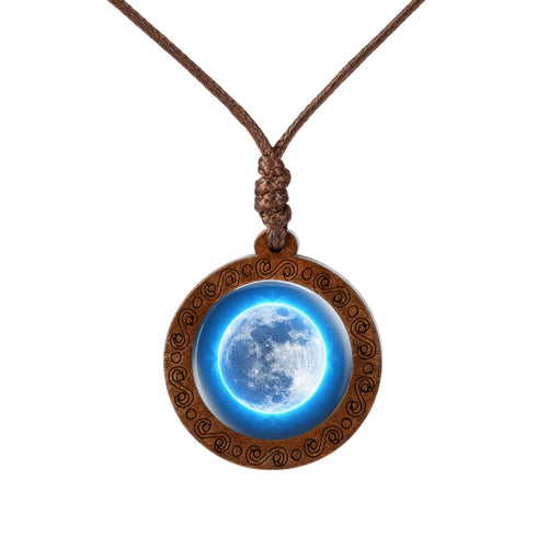 Wooden Space Necklace - SpaceTrips