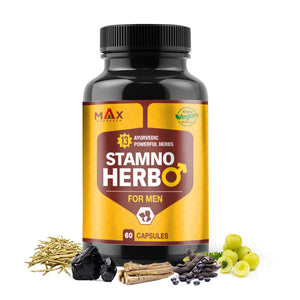 Stamno Herbo - Ayurvedic Power Capsules For Men