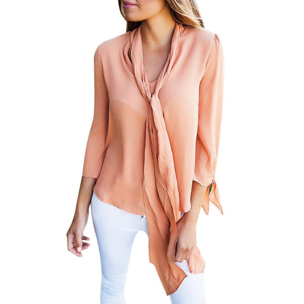 Long Sleeve Casual Tops