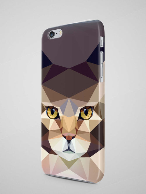 Geometric Cat iPhone 8 Plus Case iPhone X Case
