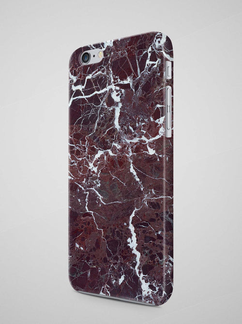 Red Marble iPhone 8 Case Marble iPhone 7 Plus Case