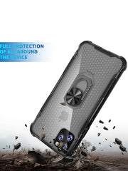 Protective Bumper iPhone Case With Ring Holder