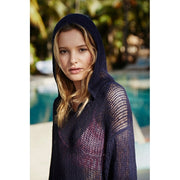 V-Neck Hoodie Knitted Summer Beach Dress
