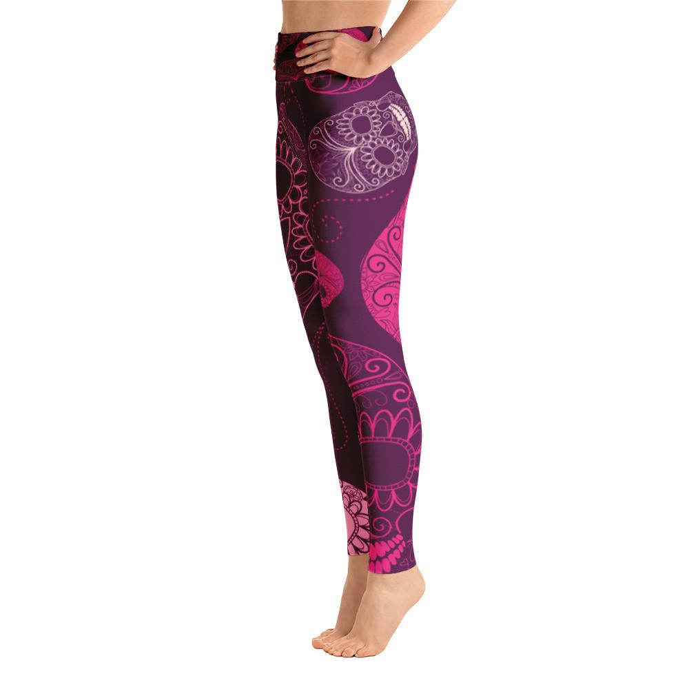 Women's Active Comfort Sport Skull Candy Leggings