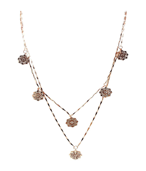 Laconic Style Layered Necklace J05 - 3 Color