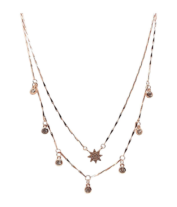 Laconic Style Layered Necklace J01 - 3 Colors
