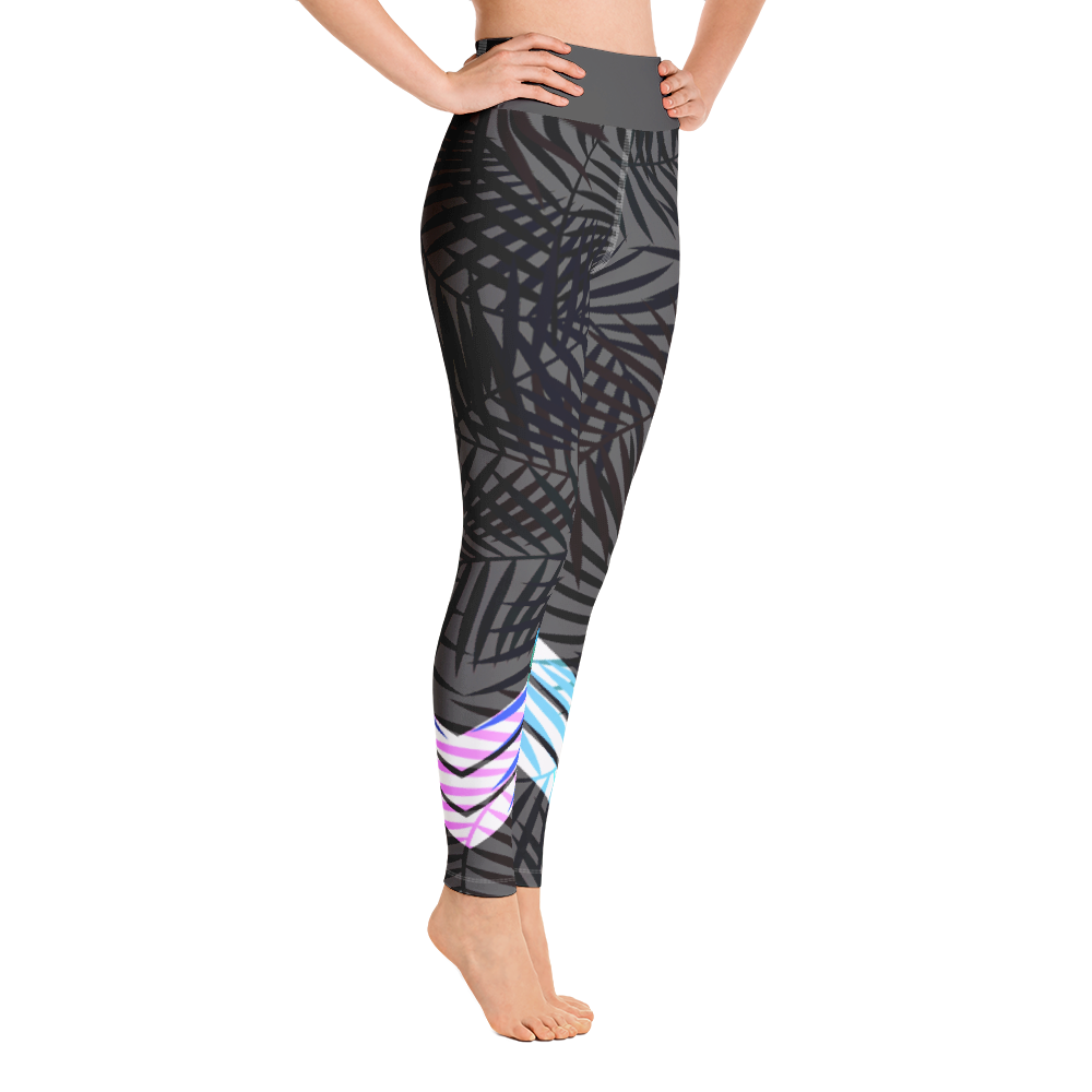 Women's Active Comfort Sport Carbon Leaf Leggings