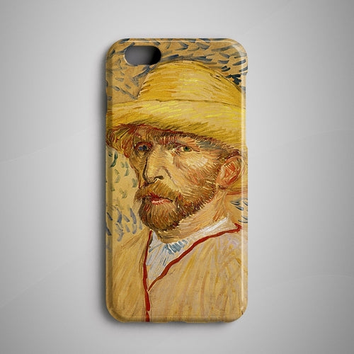 Van Gogh Portrait iPhone X Case Samsung Galaxy S8