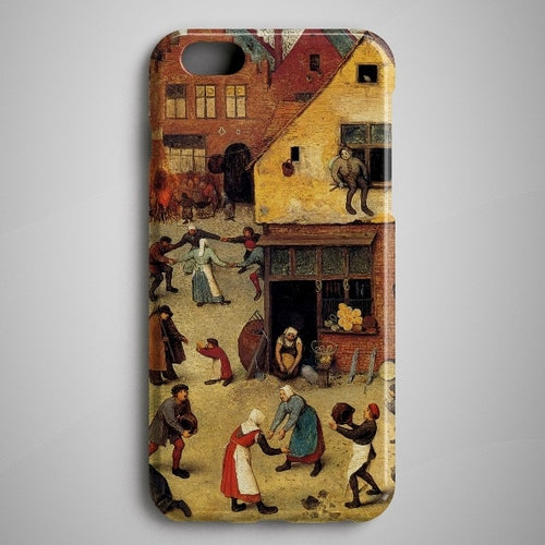 Pieter Bruegel iPhone X Case Galaxy S8 Plus Case