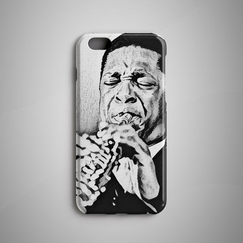 John Coltrane iPhone X Case Samsung Galaxy S8 Case