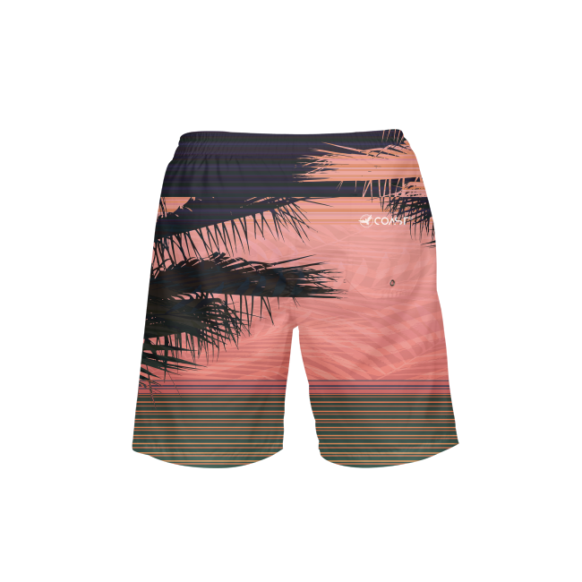 Men's FYC UPF 40+ Printed Beach Shorts