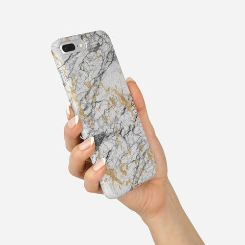 Marble iPhone 8 Case Gold Marble iPhone X Case