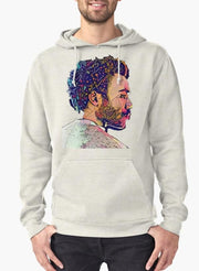 Abstract Gambino Hoodie Gray