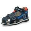Apakowa Boy's Closed Toe Toddler Sandal