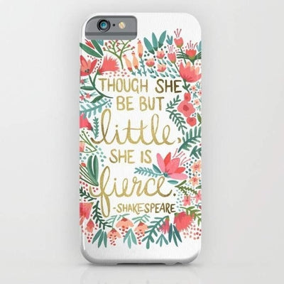 Little & Fierce Mobile Cover