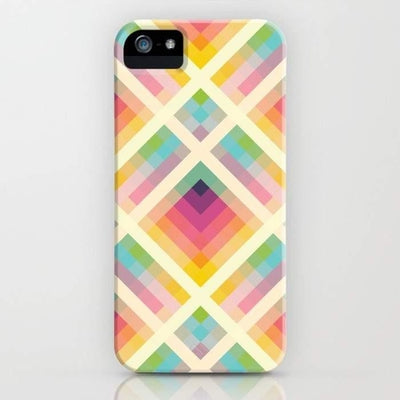 Retro Rainbow Mobile Cover