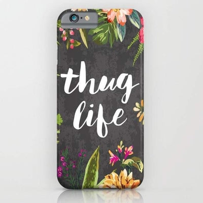 Thug Life Mobile Cover
