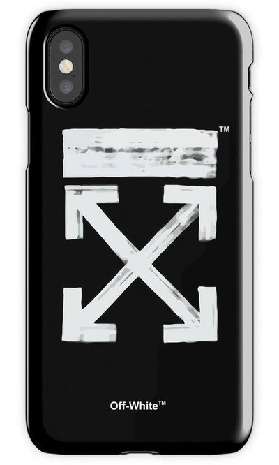 Off White Brushed 2 Mobile Cover