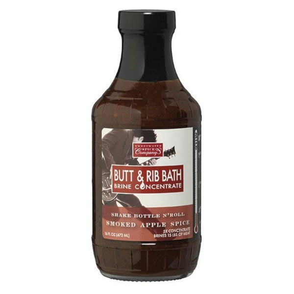 Sweetwater Spice Company Smoked Apple Spice Butt & Rib Bath Brine Concentrate - 473ml (16 oz)