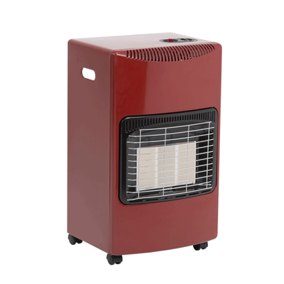 Seasons Warmth Red Cabinet Heater
