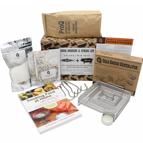ProQ Cold Deluxe Smoking & Curing Kit - Bacon & Salmon