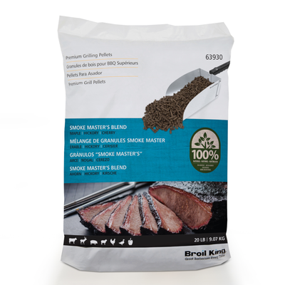 Broil King Pellets - Smoke Master's Blend - 9KG