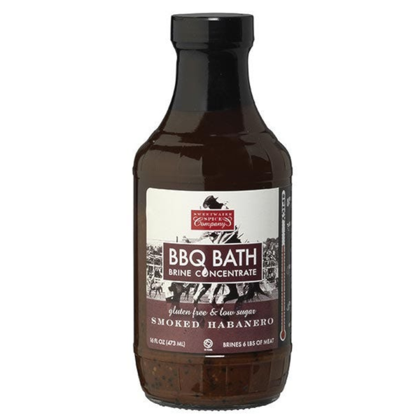 Sweetwater Spice Company Smoked Habanero BBQ Bath Brine Concentrate - 473ml (16 oz)