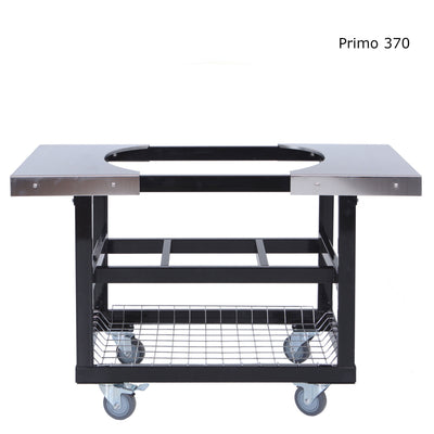 Primo Cart with Stainless Steel Shelves