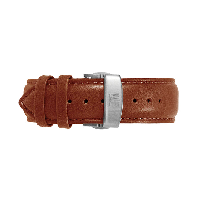 Brown Leather Band 43mm