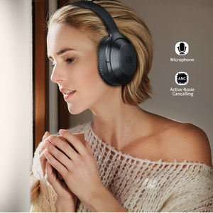 Buy Active Noise Canceling Bluetooth Headphones from Castookie Free Worldwide Shipping