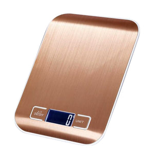 Super Slim, Stainless Steel, Kitchen Scale, To Weigh Food, Diet, Cooking Tool Balance