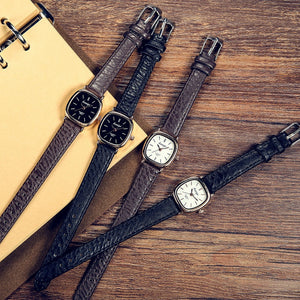 Buy Vintage Leather Watch - Relogios from Castookie Free Worldwide Shipping