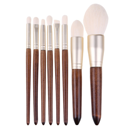 Buy Pro Makeup Brushes - 8pcs from Castookie Free Worldwide Shipping