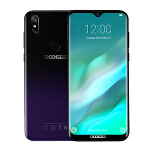 Buy Sleek Doogee Y8 Android 9.0 Smartphone from Castookie Free Worldwide Shipping