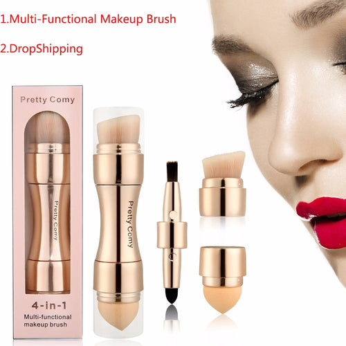 Buy 4-In-1 Professional Make Up Tool  Kit from Castookie Free Worldwide Shipping