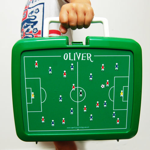 Football Retro Lunch Box