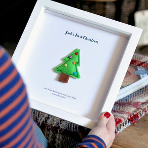 Personalised Felt Handmade Christmas Tree