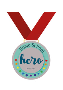 Home School Hero - Free A4 Print Download