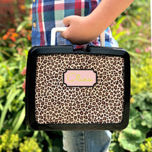 Personalised Animal Print Lunchbox