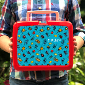 Personalised Mini Beast Retro Lunch Box