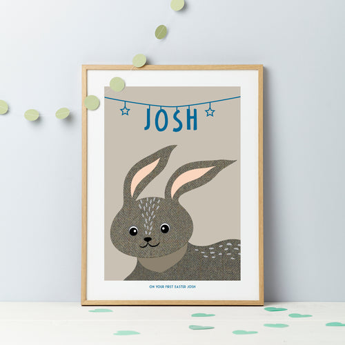 Little Bunny Tweed Baby/Child Print