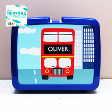 Personalised colourful flowers hygienic plastic lunch box