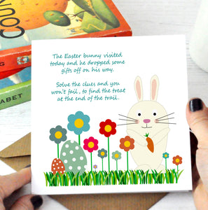 Easter Egg Treasure Hunt Cards - PDF Download - Donation towards Lincoln NHS Staff Safety Equipment