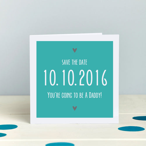 Save The Date Announcement Card