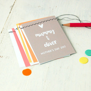 Mother's Day Handmade Bunting Card