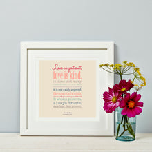 Love is Patient - Wedding Gift Corintians Reading