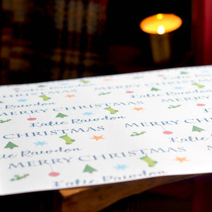 Symbols Christmas Wrapping Paper